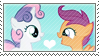 .:request:. Scootabelle Stamp by schwarzekatze4