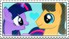 .:request:. CaraSparkle Stamp by schwarzekatze4
