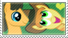 .:request:. CaraBurn Stamp by schwarzekatze4