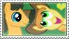 .:request:. CaraBurn Stamp by schwarzekatze4