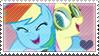 .:request:. FlutterDash Stamp by schwarzekatze4
