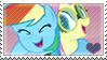 .:request:. FlutterDash Stamp by schwarzekatze4