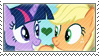 .:request:. AppleSparkle Stamp by schwarzekatze4