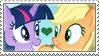 .:request:. AppleSparkle Stamp by schwarzekatze4