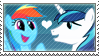 .:request:. ShiningDash Stamp by schwarzekatze4