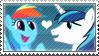 .:request:. ShiningDash Stamp by schwarzekatze4