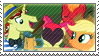 .:request:. AppleFlim Stamp by schwarzekatze4