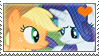 .:request:. RariJack stamp by schwarzekatze4