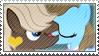 .:request:. Dumbrass Stamp by schwarzekatze4