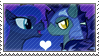 .:request:. BatLuna Stamp by schwarzekatze4