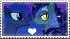 .:request:. BatLuna Stamp by schwarzekatze4