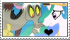 .:request:. DisLestia Stamp by schwarzekatze4