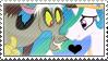 .:request:. DisLestia Stamp by schwarzekatze4