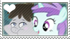 .:request:. TruffleFlute Stamp by schwarzekatze4