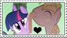 .:request:. TwiMac Stamp by schwarzekatze4
