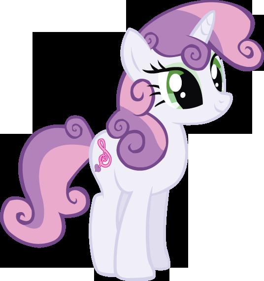 My little pony sweetie belle baby - photo#23