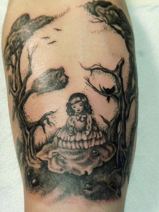 Josh's forearm by Nelson23163