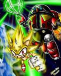 The Doomsday Zone... Sonic vs Death Egg Robot!