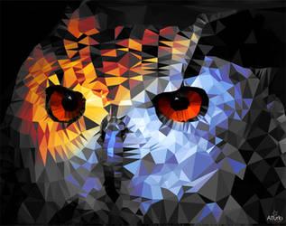 Owl-low-poly