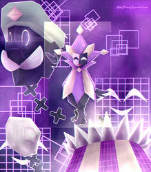 Super dimentio by KathyShadely