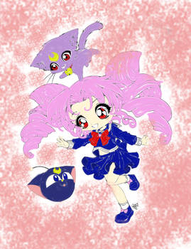 Small Lady, (literally!!) CHIBIusa