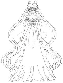 Sailor Moon Crystal - Princess Serenity
