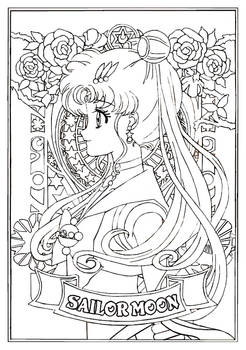 SMC Portraits - SAILOR MOON (the first of series!)