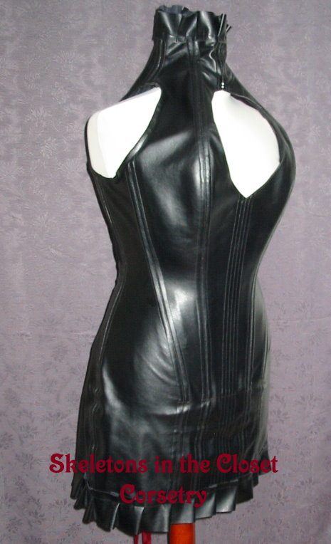 47c09d3a202 Faux Leather Corset Dress by BlackvelvetSITC on DeviantArt
