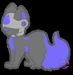 Ark (Hood Pup) by AquaPyrofan