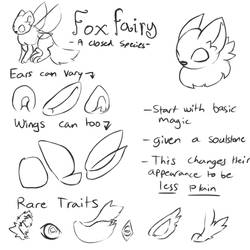 [CS] Foxfairy Species Guide - OUTDATED