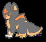 HP04 (Hood Pup) by AquaPyrofan