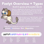 Faelyt Species Guide - Overview + Types by AquaPyrofan