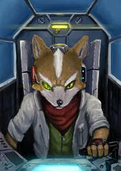 Fox McCloud by stickerb
