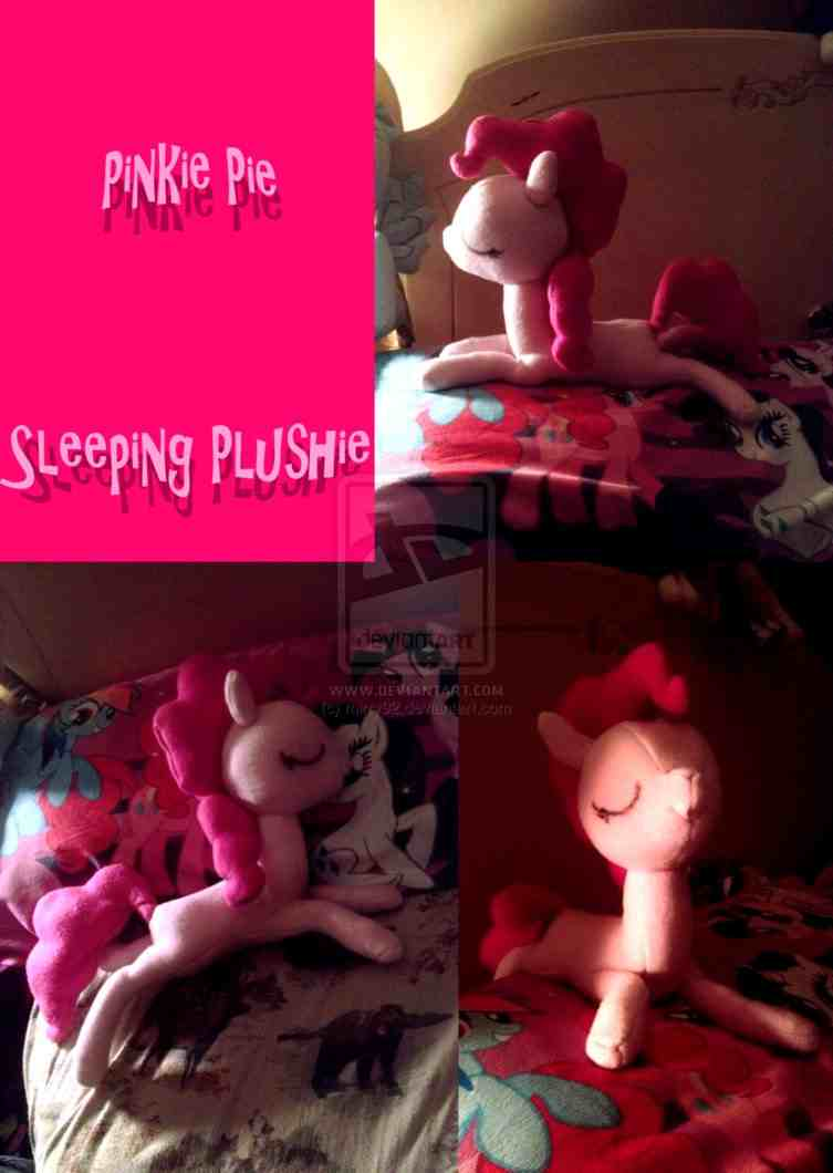 Sleeping Pinkie Pie by Illalwaysbe and Mirry92 by illalwaysbe