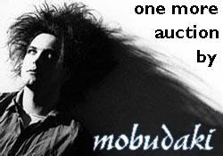 Robert Smith auction logo by mobudaki