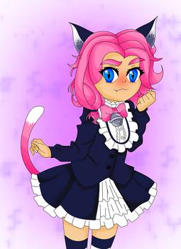 Maeve - Kitten Maid (Paladins)