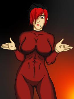 Ash - Tight Bodysuit (Paladins)