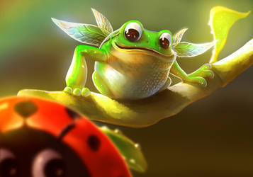 Frog Fairy by Twendle