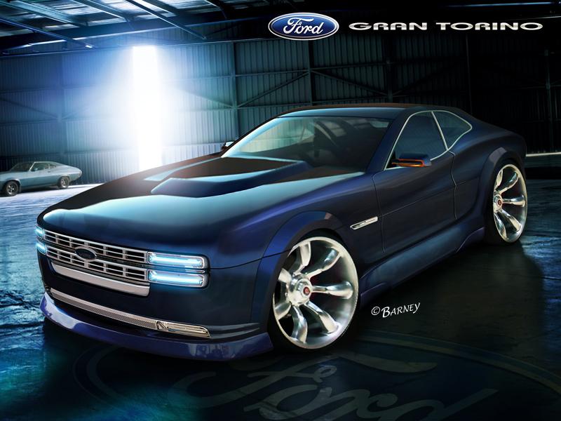 Ford Gran Torino by BarneyHH on DeviantArt