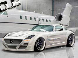 Mercedes SLS DUB-STYLED by BarneyHH