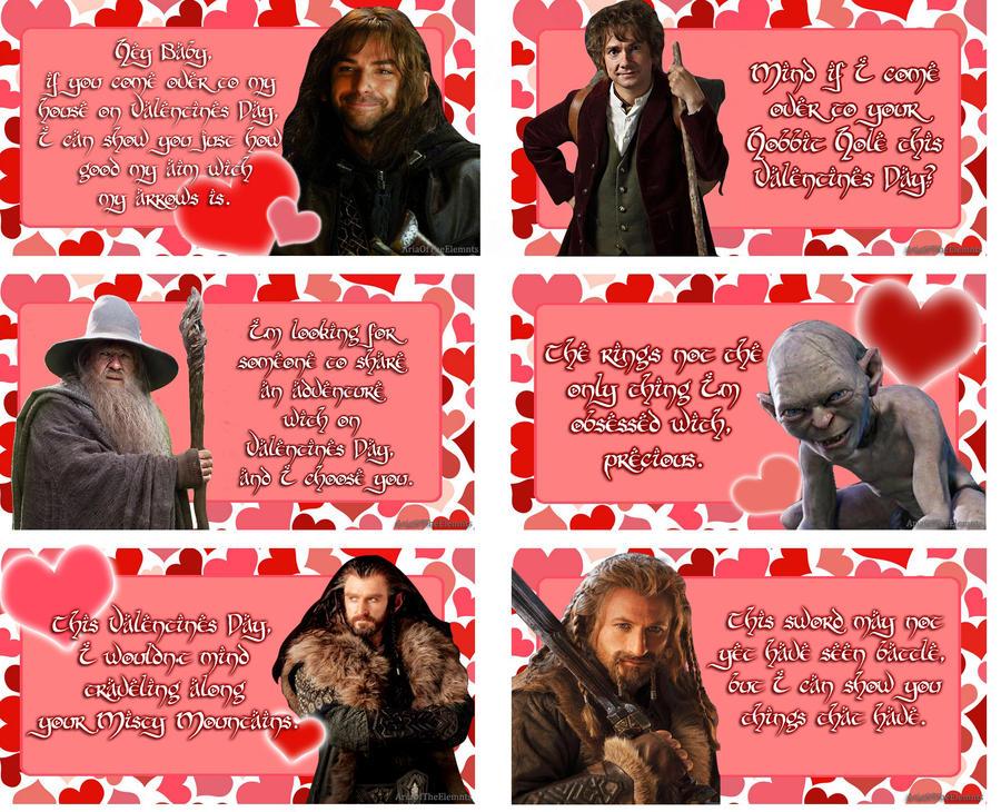Hobbit Valentines Cards by AnimeGirl10129 on DeviantArt – Digital Valentine Card