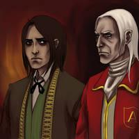Daniel and Alexander by tupuchan