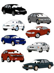 - Car Collage -
