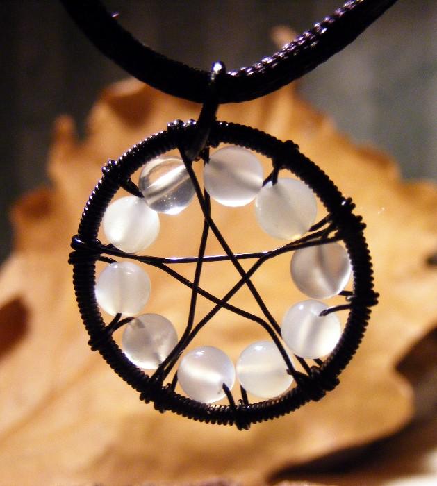 Moonstone Black Pentagram by MoonLitCreations on DeviantArt