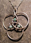 Emerald Protection Necklace