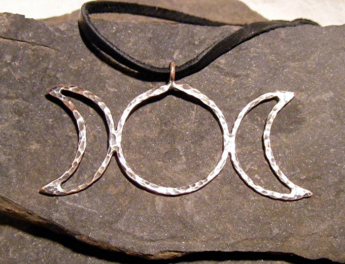 Triple Moon Necklace 2 by MoonLitCreations on DeviantArt