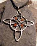 Carnelian Witches Knot