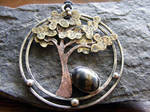 Jasper Tree Necklace