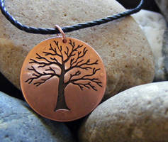Tree Necklace by MoonLitCreations