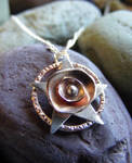 New Flower Pentacle Necklace